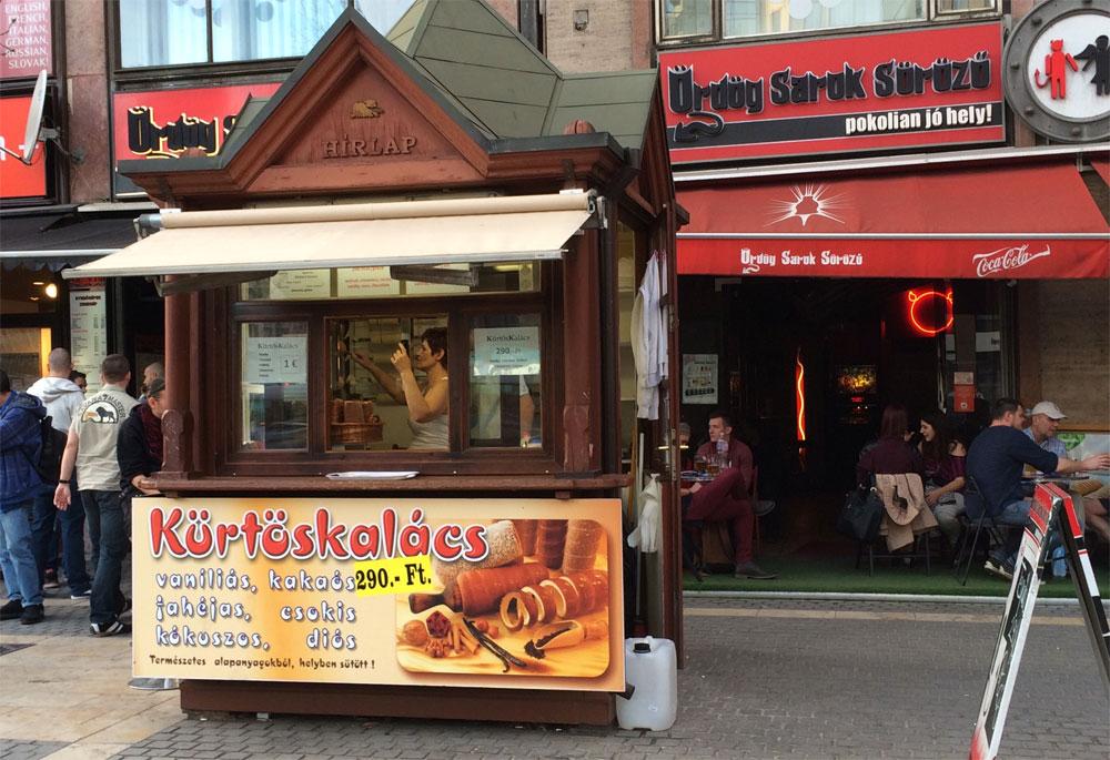 Budapest Tipps: Ungarischer Baumkuchen essen