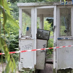 Berlin Tipps Plänterwald Spreepark verfallene Gebäude