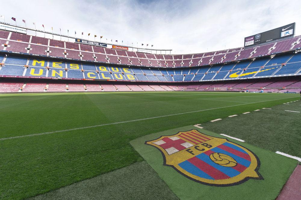 Stadion Nou Camp FC Barcelona, meist besuchte Museum