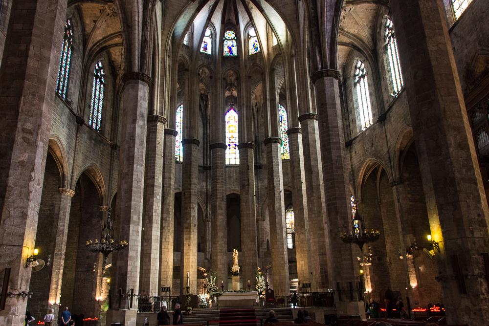 Tibidabo Barcelona Santa Maria del Mar