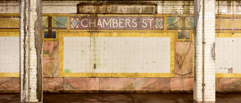 U-Bahn City Hall New York geschlossen