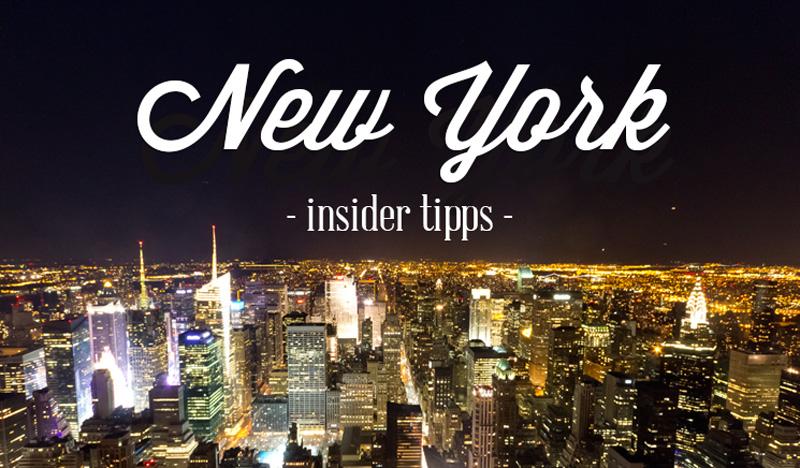 15 Insidertipps New York von einem Einheimischen