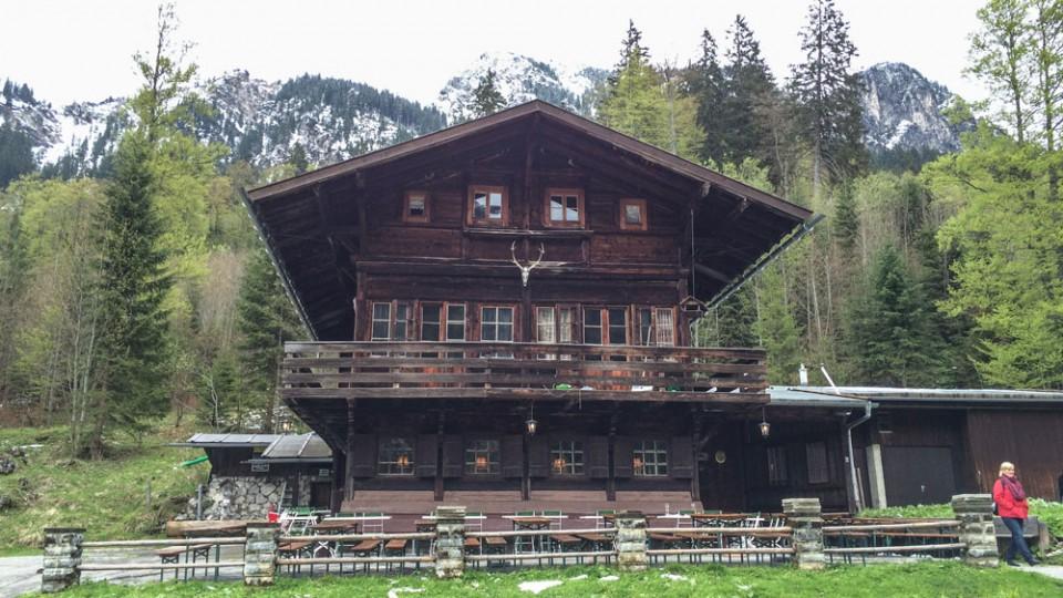 """Wandern im Allgäu König Ludwigs Jagdhütte """"Bleckenau"""""""
