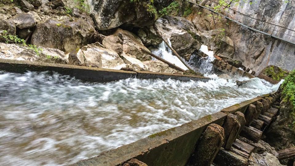Wandern auf den Spuren König Ludwigs: Pöllat Wasserfall