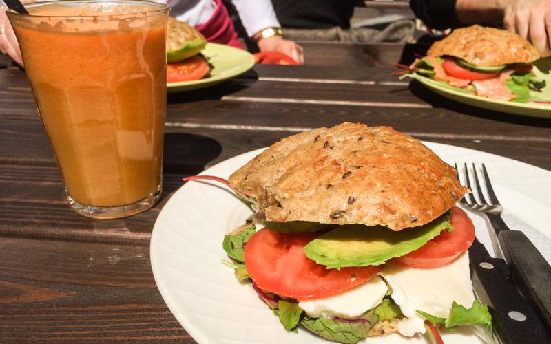 Gesundes Essen in Kopenhagen