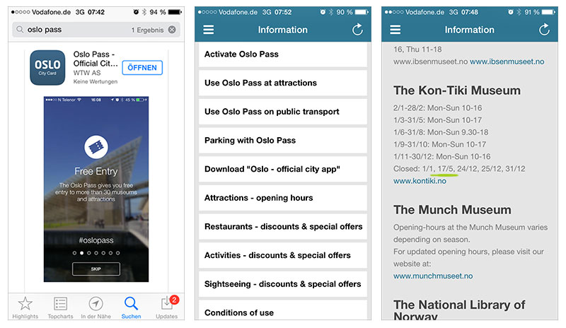 oslopass-app-informations