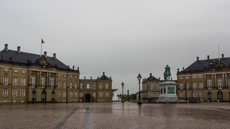 Copenhagen Card Amalienborg Slot