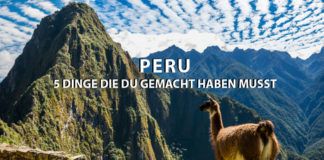 Peru Sehenswürdigkeiten
