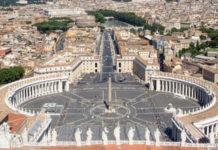 Vatikan Rom Petersdom Kuppel