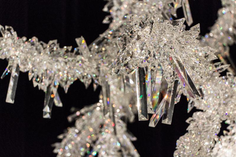 swarowskis kristallwelten wattens tannenbaum aus kristallen