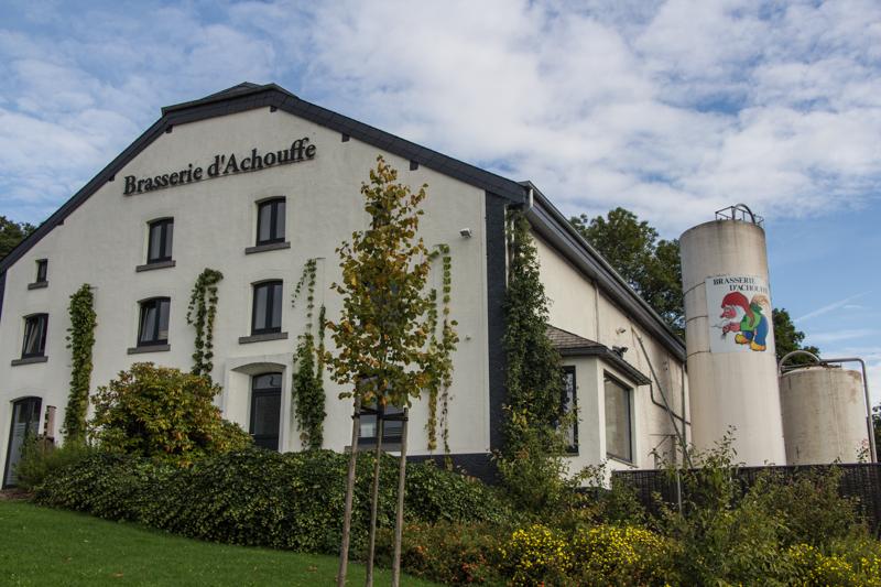 Belgische Ardennen wandern: Brasserie D'Achouffe - Brauerei