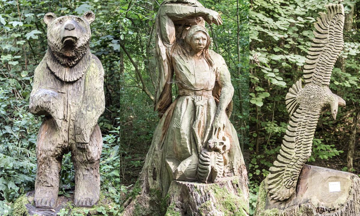 Heilbronn Skulkturenweg Köpfertal Skulpturen