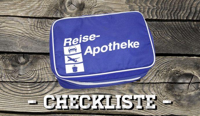 Reiseapotheke Checkliste