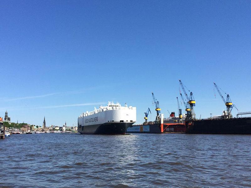 Hamburg riecht nach..Fisch! Vor allem im Hafen
