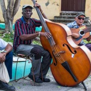 Santiago de Cuba Straßenmusiker