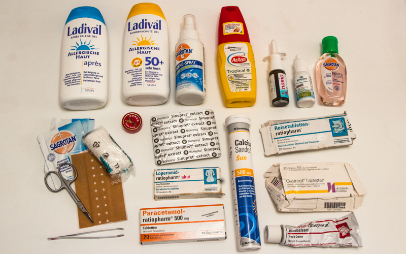 Urlaubscheckliste Medikamente
