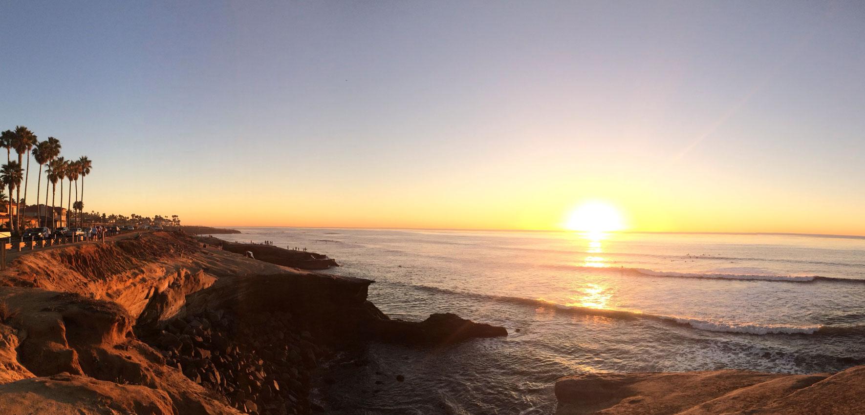 San Diego Sonnenuntergang (Adobe Stock ID : 60364058)