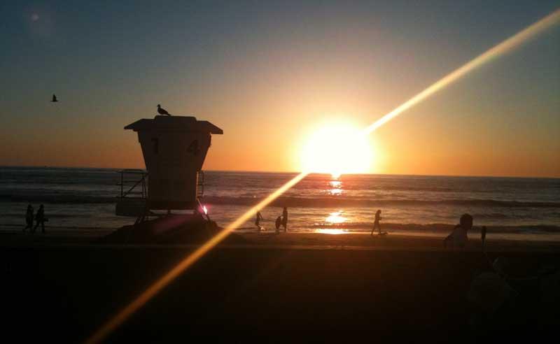 Reisen nach Kalifornien: Strand La Jolla in San Diego