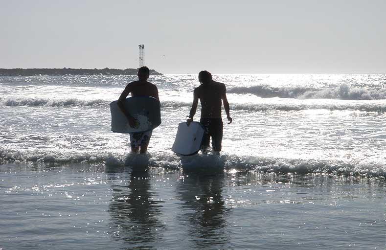San Diego ist ein Surferparadies