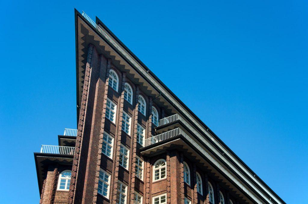 Chilehaus in Hamburg - Architektur