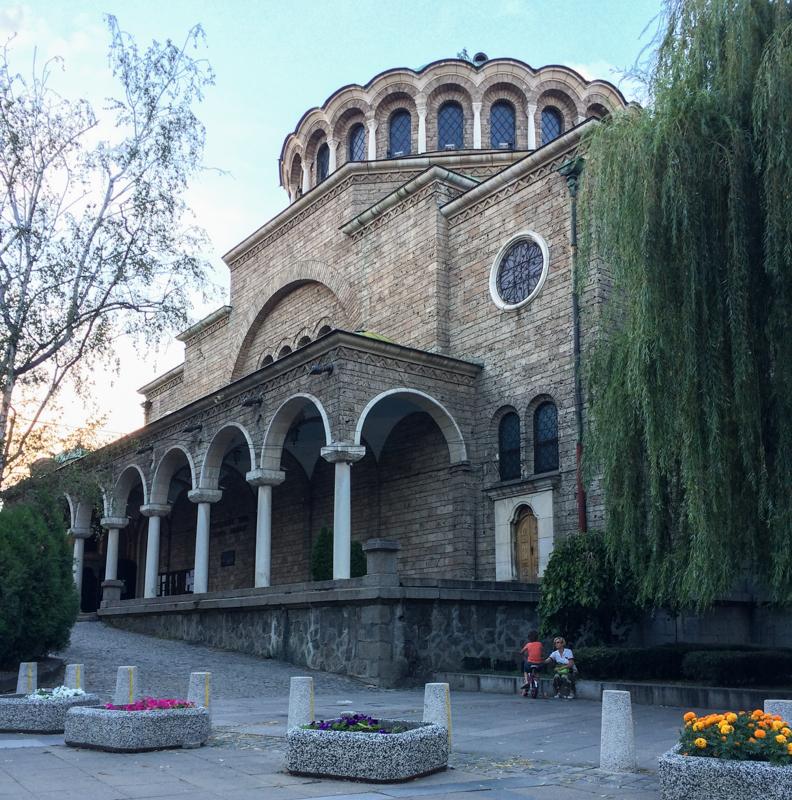 Sofia Kathedrale Sweta Nedelja ist eine orthodoxe Kirche