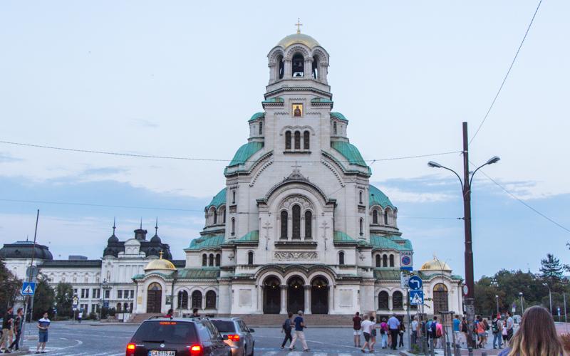 lexander-Newski Kathedrale ist eine bulgarisch-orthodoxe Kirche