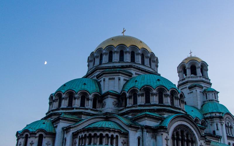 Sofia Sehenswuerdigkeiten Alexander-Newski Kathedrale