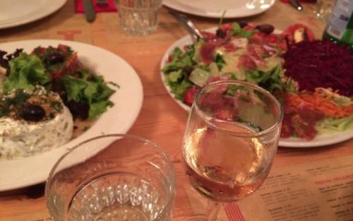 Raketa Rakia Bar Abendessen in Sofia