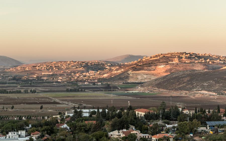 Dada Lookout - Blick auf den Libanon