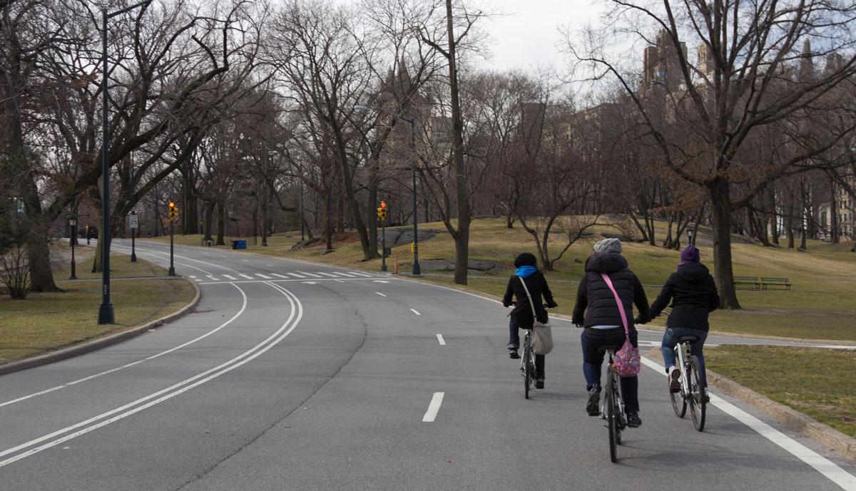 New York Sehenswürdigkeiten Central Park mit Fahrrad