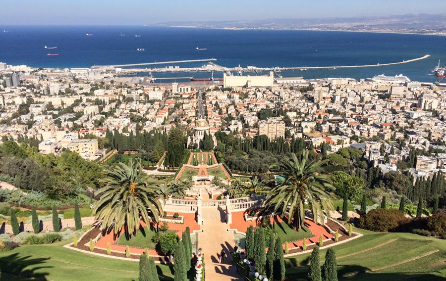 Uneco Welterbe: Die Bahai-Gärten in Haifa