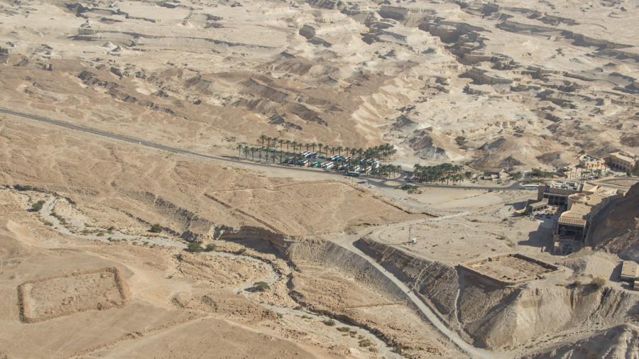 Masada Israel Kastell