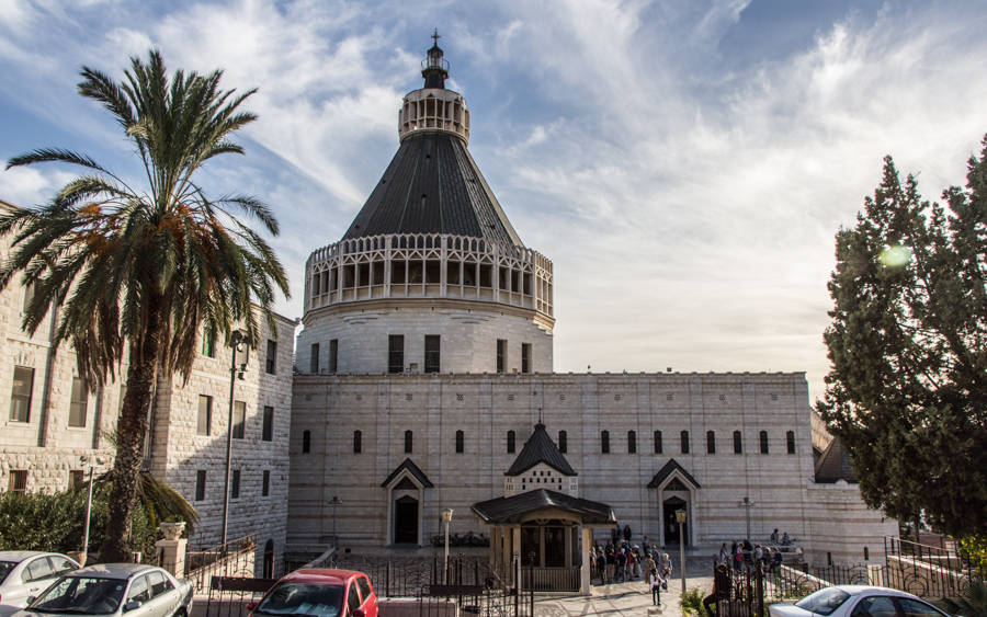 Die Verkündigungskirche (christliche) in Nazareth