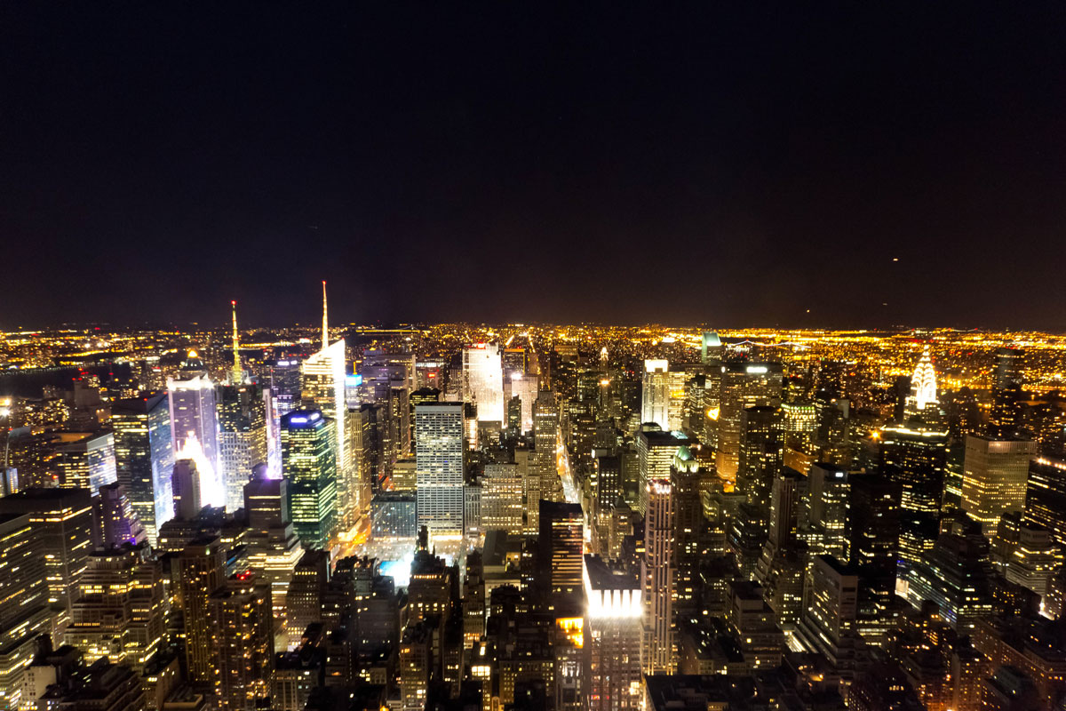 Pictures Of New York City Buildings At Night