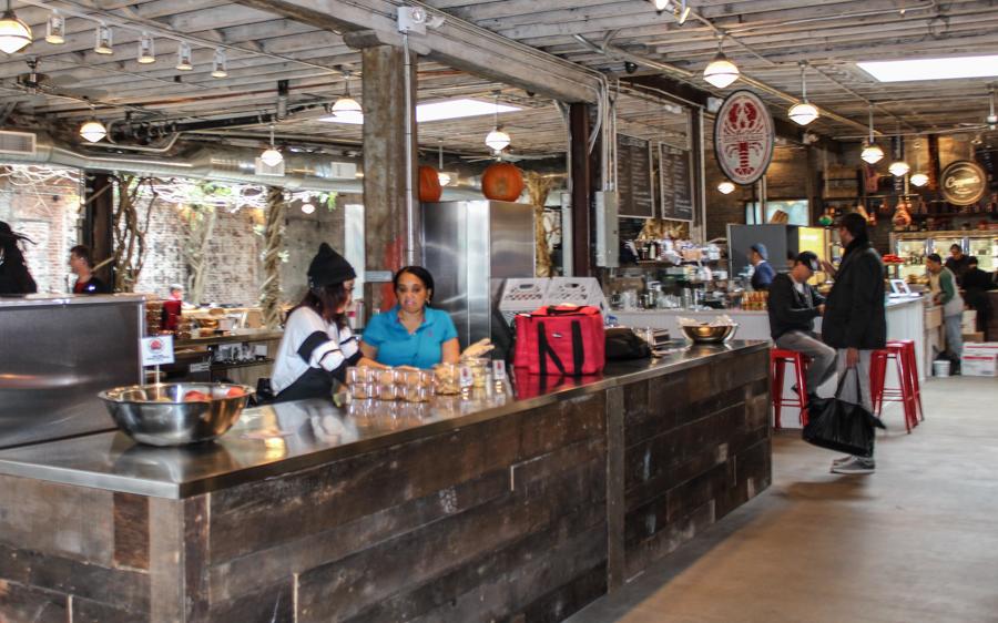 New York Sehenswürdigkeiten Shoppen im Gansevoort Markt