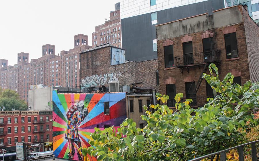 Highline Park in New York