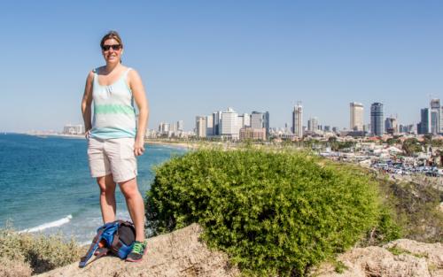 Ausblick auf Panorama Tel Aviv