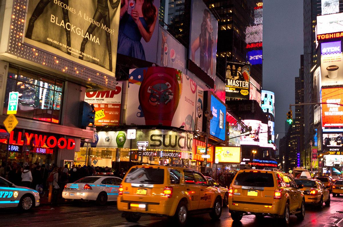 Reisebericht New York Times Square Sehenswürdigkeiten