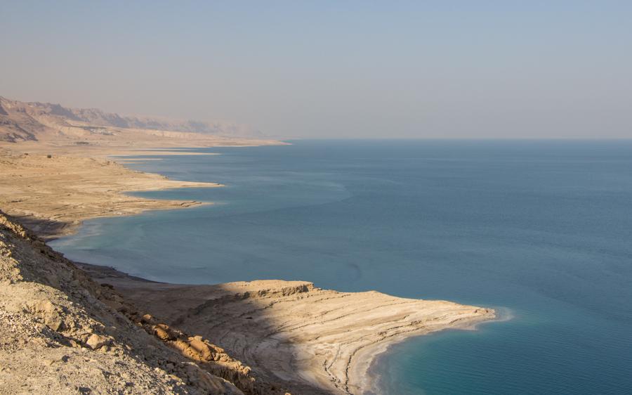 Aussicht aufs Tote Meer Israel