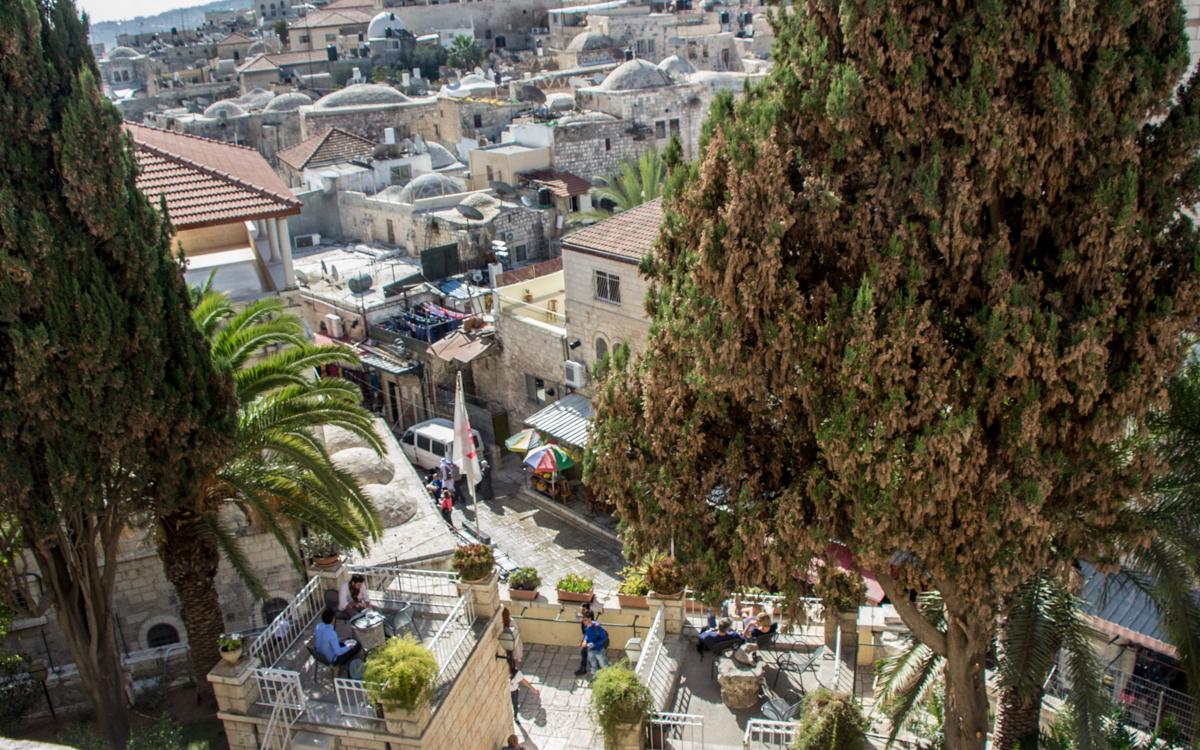jerusalem altstadt oase und übernachtungstipp