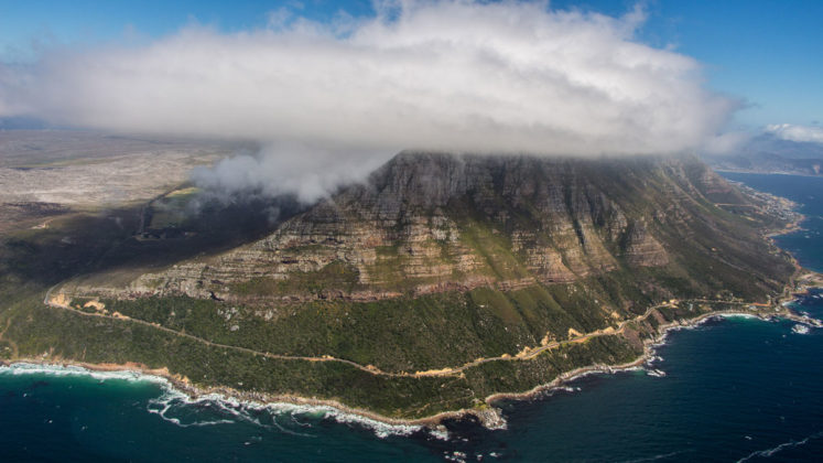 helikopterflug zum cape point