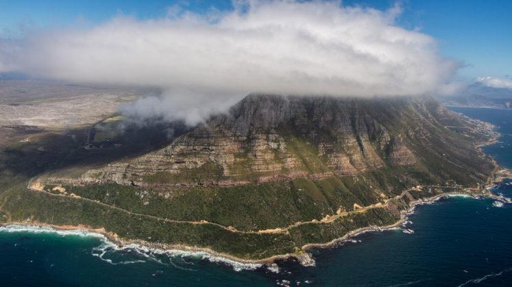 helikopterflug zum cape point