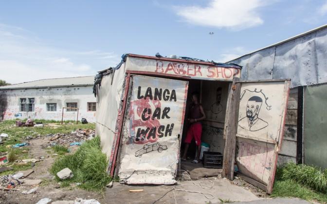 Langa Township Barber Shop