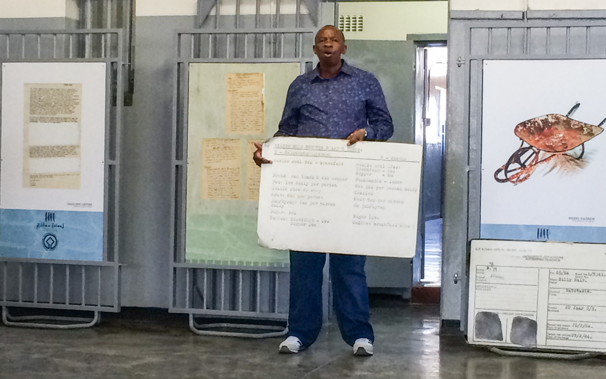 Robben Island Tour Guide