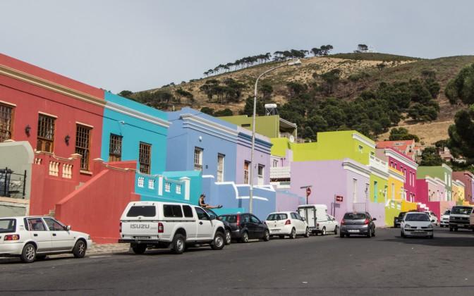 Bo-Kaap - buntes Viertel in Kapstadt
