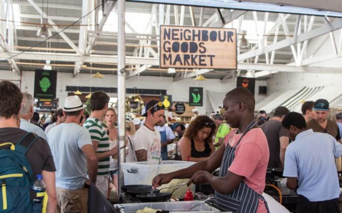 Neighbour Goods Market Woodstock Kapstadt