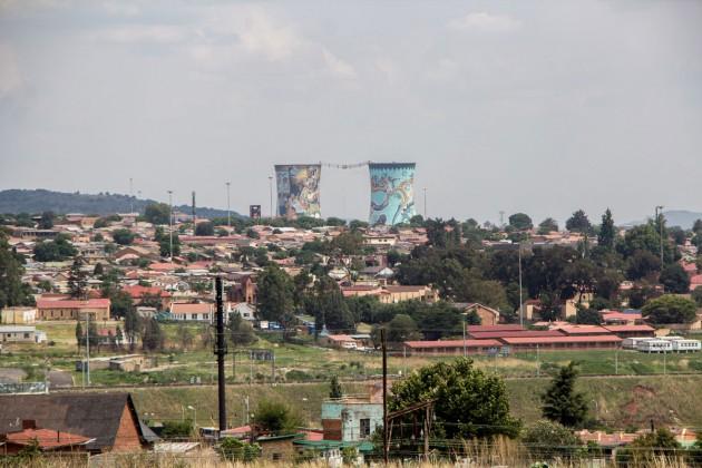 Soweto Silos Kraftwerk Graffiti