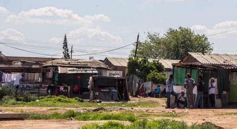 Impressionen der Soweto Township Bike Tour Kids