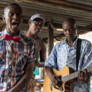 Südafrika Highlight Musiker in Soweto