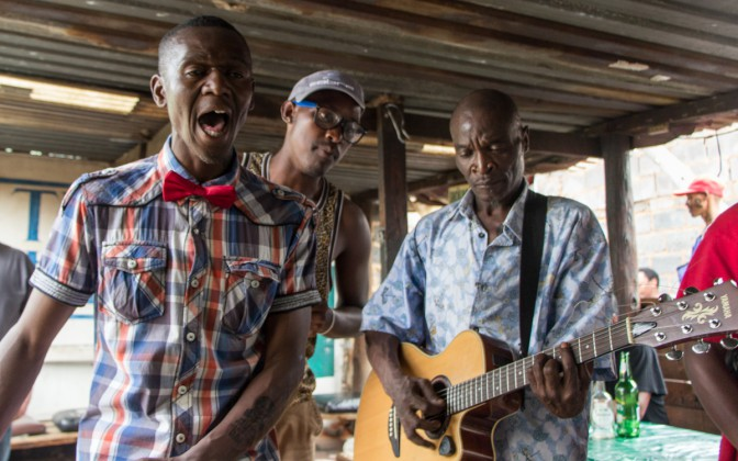 Südafrika Highlight Musiker in Soweto